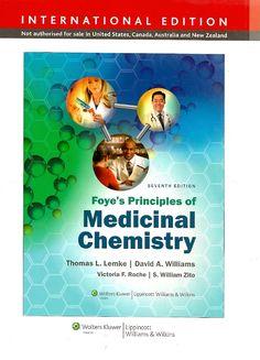 LENKE, Thomas L. et al. Foye's principles of medicinal chemistry. 7 ed. Nova York: Lippincott Williams & Wilkins, 2013. xviii, 1500 p. ISBN 1451175728. Inclui bibliografia (ao final de cada capítulo) e índice; il. color.; 28x22cm.  Palavras-chave: QUIMICA MEDICINAL; FARMACOLOGIA.  CDU 615.1 / L566f / 7 ed. / 2013