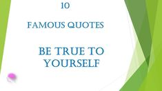 10 Famous Quotes - Be true to yourself Meant To Be Yours, Williams James, Royalty Free Music, Be True To Yourself, Inspirational Videos, Yoga Meditation, True Beauty, Famous Quotes, Law Of Attraction