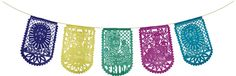 Frida Kahlo papel picado banner. It's hanging on my front porch. Very festive! And they provide excellent customer service. $9