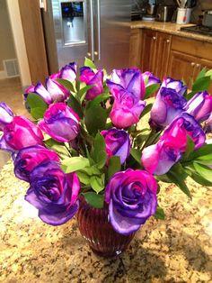 Pink & Purple Roses