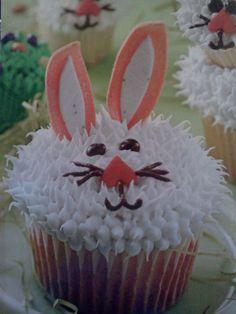 Bunny cupcake ...