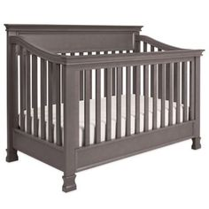 Million Dollar Baby Classic Foothill 4-in-1 Convertible Crib in Weathered Grey - BedBathandBeyond.com