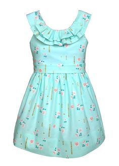 Girls Dress PATTERN PDF download beautiful by TheFreckledPear