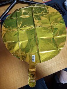 Mylar Balloons, Metallic Gold