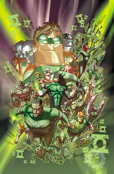 Green Lantern Corps by Jerry Gaylord