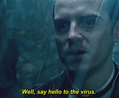 """""""You once called your brain a hard drive. Well, say hello to the virus."""" ~ Sherlock, The Abominable Bride"""
