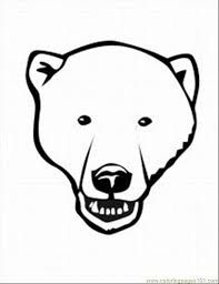 Image Result For Bear Head Drawing Bear Coloring Pages Animal