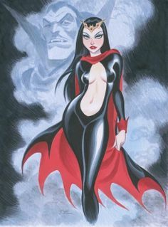 Lilith by Bruce Timm Art Arte Vampires Vampiri Horror Bruce Timm, Cartoon Kunst, Comic Kunst, Cartoon Art, Comic Book Artists, Comic Artist, Comic Books Art, Marvel Comics, Arte Dc Comics
