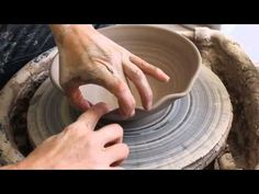 Pottery Berry Bowl Demonstration - YouTube
