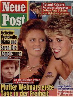 "Princess Diana & Sarah  ""Neue Post"" (Nr.50 vom 7.12.1995)"