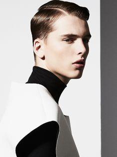 Stefan Models Sharp Looks in Photos by Joe Bulawan