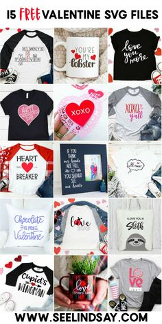 fec4df8af Create the cutest Valentine shirts with these 15 FREE SVG files. Perfect to  use with. Valentine T ShirtsValentines For KidsValentine Day ...