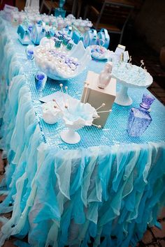 """A """"Sparkly Mermaid Party"""" by Little Big Company"""