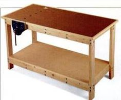 free plans woodworking resource from Popular Mechanics - workbenches,utility,tables,workshops,wooden,diy,free woodworking plans,projects,patterns