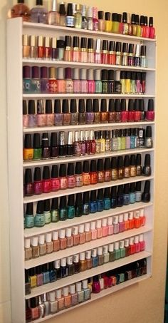 I want to have that much nailpolishhh