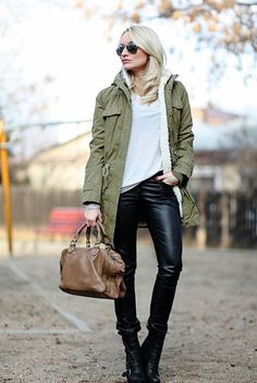Love me some leather pants