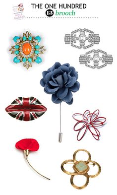 #13 Brooch - we need to rethink how we're wearing these, ladies!
