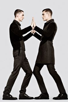 Binary pieces from Dior Homme FW13, for Metal magazine |  Neil Bedford