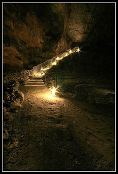 Carnglaze Caverns Entrance - Cornwall, UK