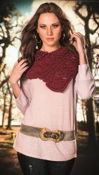 Chalina Nuance Elige tu lana en Atika, sugerimos que utilices lana Nuance. Disponible en varios colores. www.facebook.com/atika.bolivia