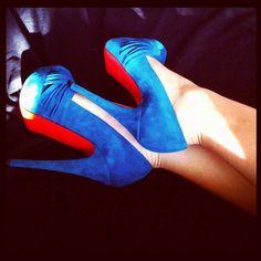 Glam Blue Christian Louboutin