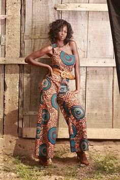 AFROPOLITAN: love this jumpsuit!