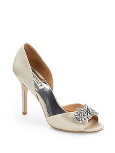 Nikki d'Orsay Satin Pumps $215, $169.99 + 40% off
