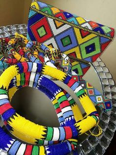 African Wear, African Style, African Fashion, African Traditional Wear, Traditional Styles, African Accessories, African Jewelry, Zulu, 4th Of July Wreath