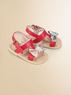Burberry Infant's Bow Sandals