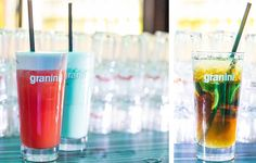 Cocktails und andere Drinks an den QSIX Theken