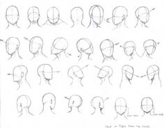 Head Angles by KCSteiner.deviant… on Head Angles by KCSteiner.deviant… on Head Angles, Face Angles, Art Drawings Sketches, Cool Drawings, Pencil Drawings, Eye Drawings, Horse Drawings, Pencil Art, Wie Zeichnet Man Manga