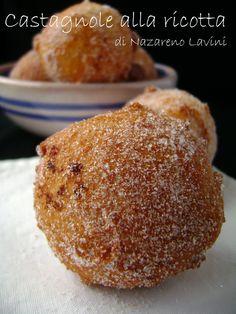 Castagnole ricotta Ricotta, Muffin, Breakfast, Food, Morning Coffee, Essen, Muffins, Meals, Cupcakes