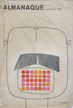almanaque (february 1961), cover design by sebastião rodrigues (1929-1997)