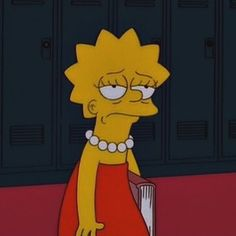 And finally, when she was just really done with everyone's shit. 21 Times Lisa Simpson Was A Big Fucking Mood The Simpsons, Simpsons Quotes, Reaction Pictures, Funny Pictures, Simpson Tumblr, Funny Memes, Hilarious, Memes Humor, Funny Comedy