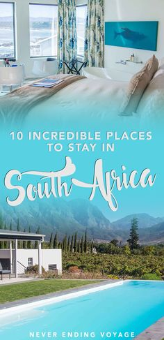 Planning to travel to South Africa soon? Here are 10 gorgeous places and accommodations you'll absolutely love. And the best part is that there's something for every budget. #southafricatravel #hoteltips #southafrica