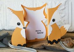 Fox Archives - New Ideas Pop Up Invitation, Fox Crafts, Fox Decor, Shaped Cards, Diy Gifts For Boyfriend, Pop Up Cards, Handmade Birthday Cards, Creative Cards, Kids Cards