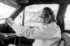 Cab Driver, Kings Cross 1970-71. Rennie Ellis