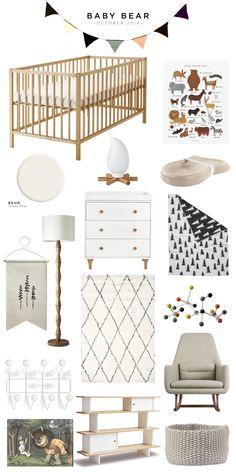 Ikea Baby Nursery, Ikea Crib, Newborn Nursery, Nursery Room, Kids Bedroom, Ikea Sniglar Crib, Ikea Baby Room, Budget Nursery, Elephant Nursery