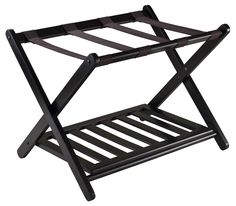 Winsome Reese Luggage Rack & Reviews | Wayfair-GREAT for guest bedroom accessory