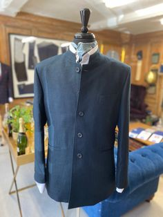 Bespoke Clothing, Linen Suit, Chef Jackets, Suits, Coat, Clothes, Fashion, Outfits, Moda