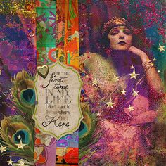 AnywhereButHere2 Phenomenal Woman by Heather Sullivan aka sparklyduck75 for The Gypsy Diaries Project