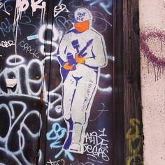 StreetArt/ Graffiti - Le Soldat Inconnu, Place Gabriel Rambaud, Lyon (Photos by My Urban Island)