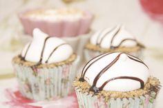 Tu medio cupcake: S'More Cupcakes... o Cupcakes de Chocolate al cuadrado!!!! Ñaaaam!!! #smore #cupcakes #chocolate #receta