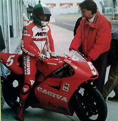 Agostini on Cagiva 500