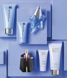 Simply out of this world: Thierry Mugler's Angel & Alien fragrance collections.