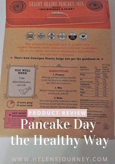 How to do pancake day, the healthy way! Gluten-free, Sugar-free, Vegan and Non GMO pancakes. Sugar Free Pancakes, Gluten Free Pancakes, How To Do Pancakes, Scotch Pancakes, Milk Alternatives, Pancake Day, Natural Honey, Glutenfree, Life Lessons