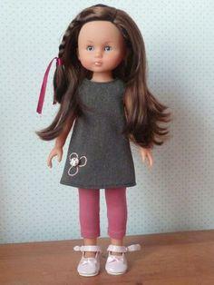 patron robe chasuble pour poupée