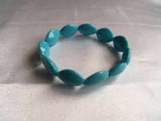 Bracelet  Turqouise Blue Color Bracelet  by YouniquelyElegant, $8.00