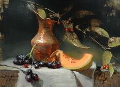 Hilton Head Art Auction (formerly Charleston)-Copper and Melon