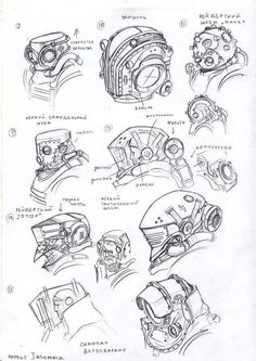Pa head 2 by tugodoomer Robot Concept Art, Armor Concept, Weapon Concept Art, Character Concept, Character Art, Robots Drawing, New Retro Wave, Arte Robot, Robot Design